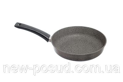 Сковорода с мраморным покрытием и крышкой 24 см Prolis СК-240-01АП (гр)