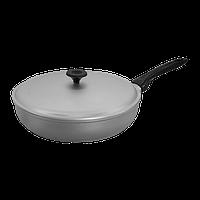Алюминиевая сковорода с крышкой 29,5 см Prolis СК-295