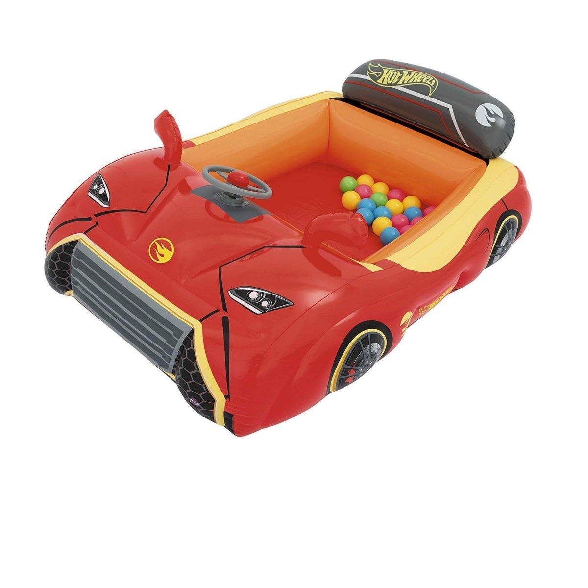 Надувной игровой центр - кровать Bestway «Тачки» 135х99х43 см (93404)