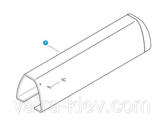 Крышка винта привода Came ATI - 119rid101