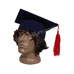 Квадратная шапка выпускника для ребенка 56 - 60