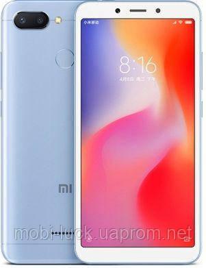 Xiaomi Redmi 6 Global Version  2 сим,5,45 дюйма,8 ядер,32 Гб,12 Мп,3000 мА\ч.