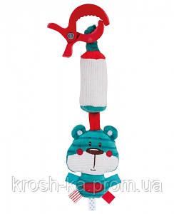 Погремушка мягкая с колокольчиком Лесные друзья Canpol Babies Польша 68\043