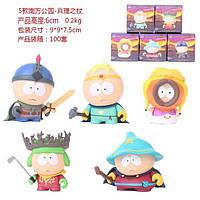 Фигурки героев мультфильма Южный парк South Park 5 штук