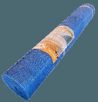 Стеклосетка штукатурная, шпатлевочная Works 145г/м2, 5х5 (синяя)