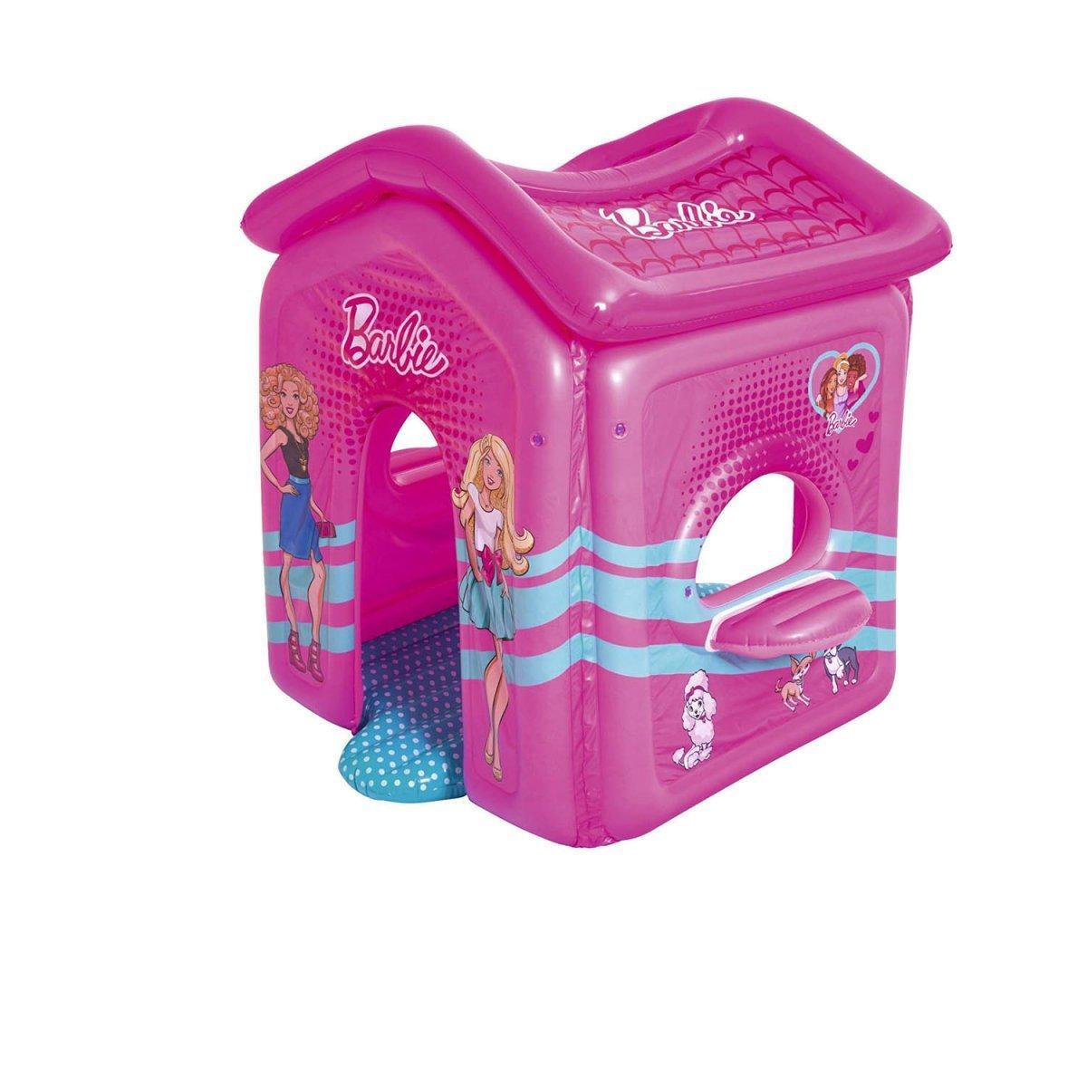 """Надувной игровой домик Bestway """"Барби"""" 150х135х142 см (93208)"""