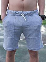 Спортивные серые шорты, фото 4