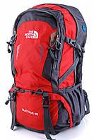 Туристический рюкзак The North Face 55L экспедиционный  красного цвета, фото 1