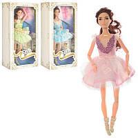 Кукла 30см, шарнирная, балерина, PS1808-1