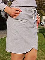 Серая спортивная юбка, фото 4