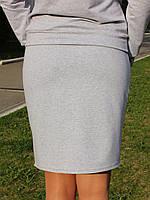 Серая спортивная юбка, фото 3