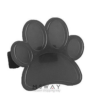 Палитра для лака Кольцо для рисования пластик лапка черная, фото 2