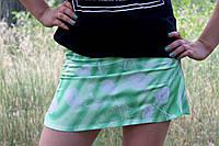 Летняя зеленая юбка