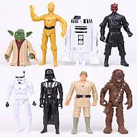 Фигурки героев фильма Звездные войны 8 штук