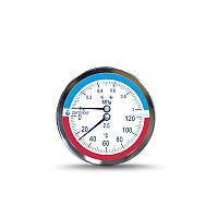 Термоманометр - манометры с температурной шкалой. Сертифицированы