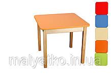 *Стіл дерев'яний кольоровий ТМ Фінекс (7 кольорів) Україна арт. 021-027