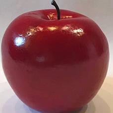 Искусственный фрукт-яблоко красное, муляж яблока, фото 2