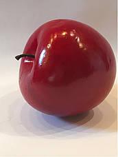 Искусственный фрукт-яблоко красное, муляж яблока, фото 3
