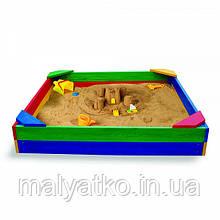 *Пісочниця для вулиці різнобарвна арт. 1 (Україна)