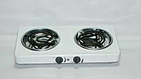 Плитка электрическая Кампо ЕПТ2-2,0/220Ш (2 кВт, 2 конф, широкая спираль), фото 1