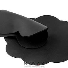Коврик силиконовый черный цветочек 90х90мм для рисования, стемпинга, нескольжащий, фото 3