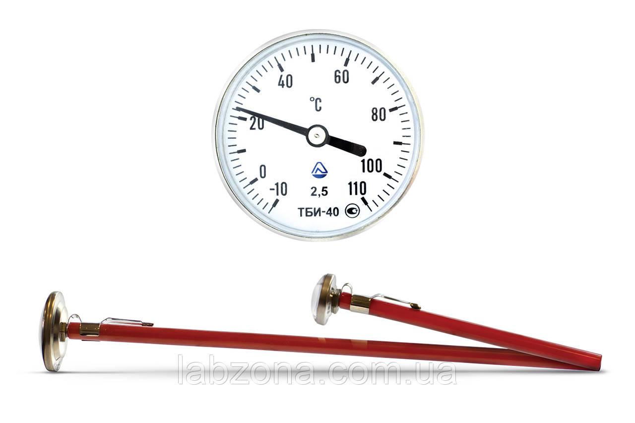 Термометр биметаллический ТБИ. ТБТ.  Осевой и радиальный
