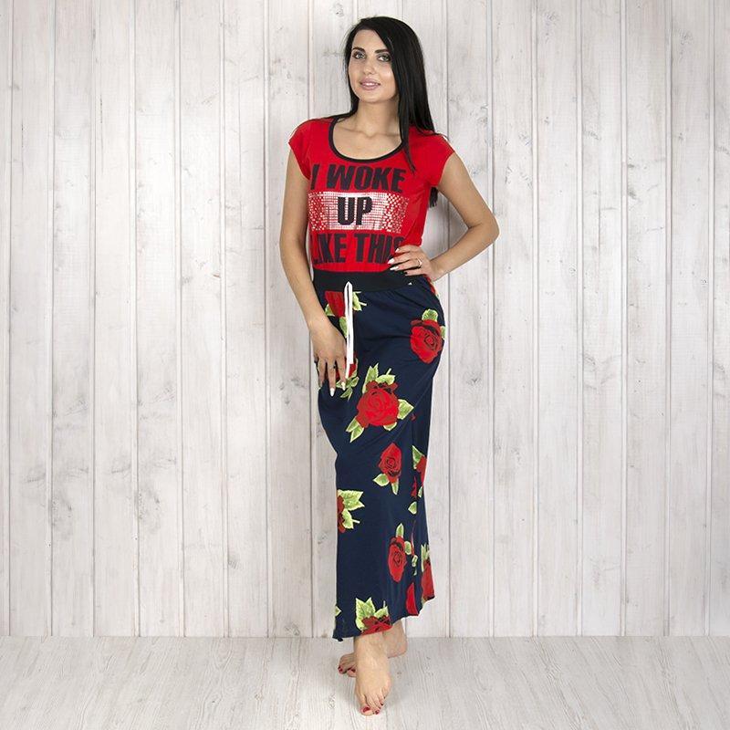 Платье женское для дома с принтом Fushiya (Турция) fs8380_1