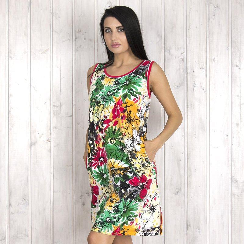 Платье женское для дома с цветочным узором Intensive (Турция) intsv2575