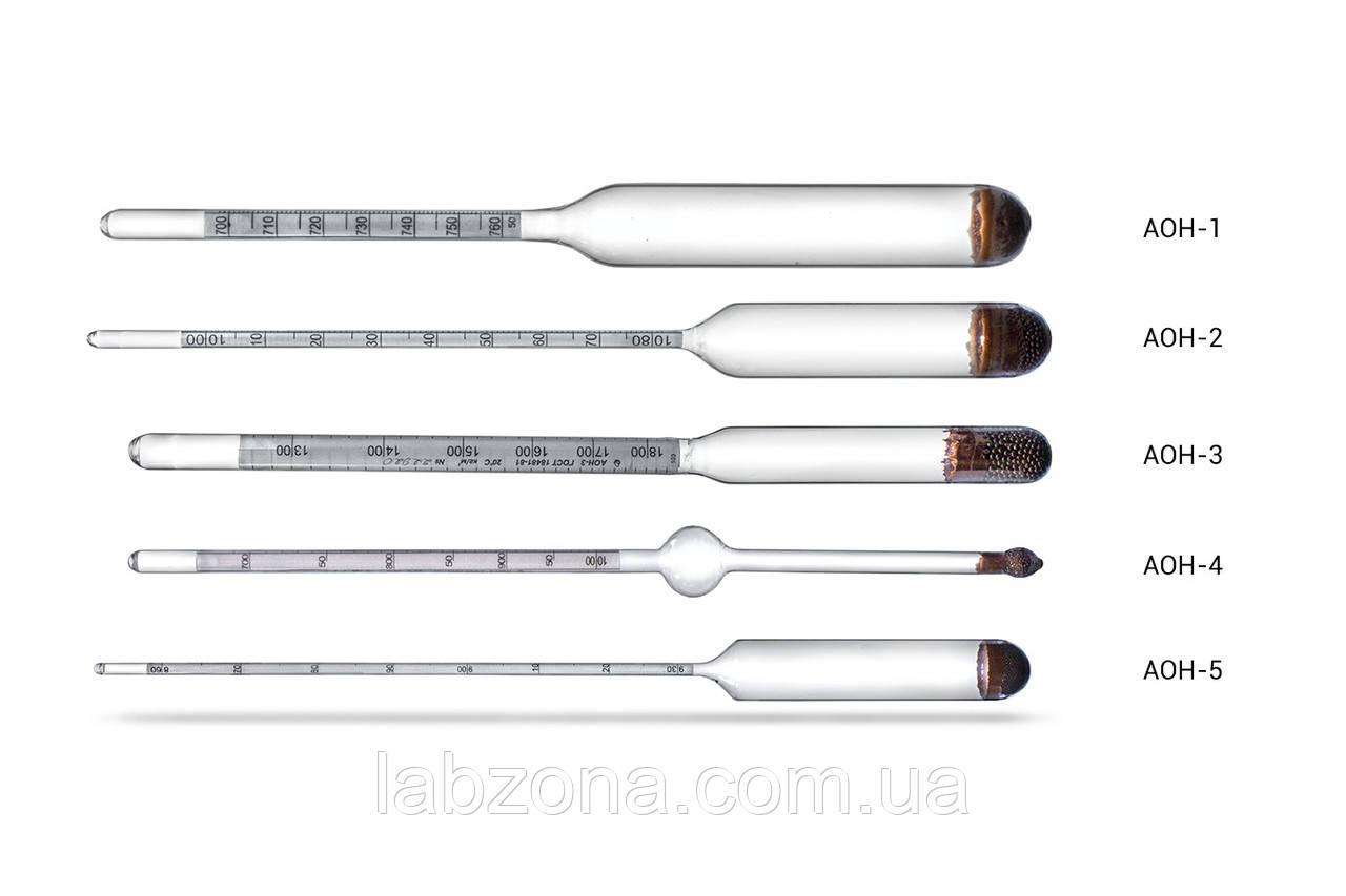 Ареометр АОН . Прибор для измерения плотности