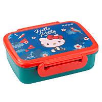Ланчбокс Kite «Hello Kitty», харчовий пластик, для дітей
