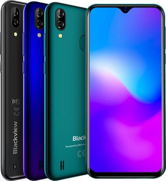 """Телефон Blackview A60 Pro 6.08"""" / Helio A22 / 3/16GB / 8Мп / 4080мАч + чехол+стекло"""