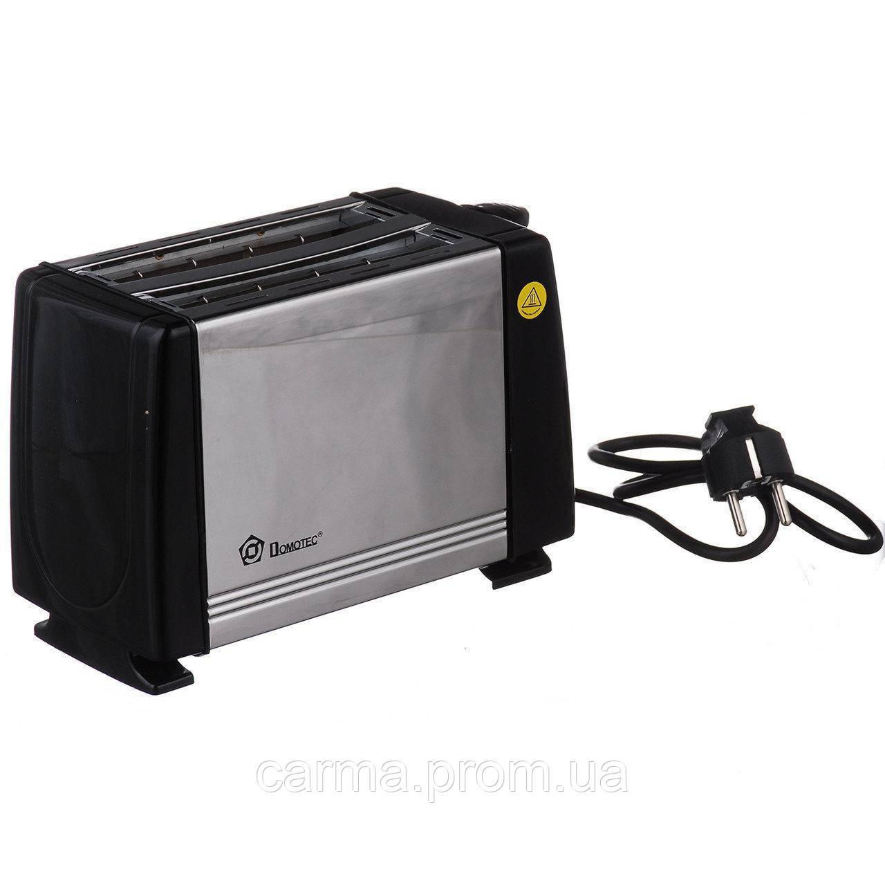 Тостер Domotec MS-3231 Black Steel