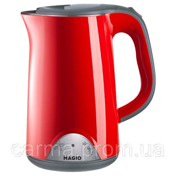 Электрочайник-термос MAGIO MG-515N Red