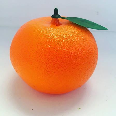 Искусственный мандарин.Муляж мандарина., фото 2