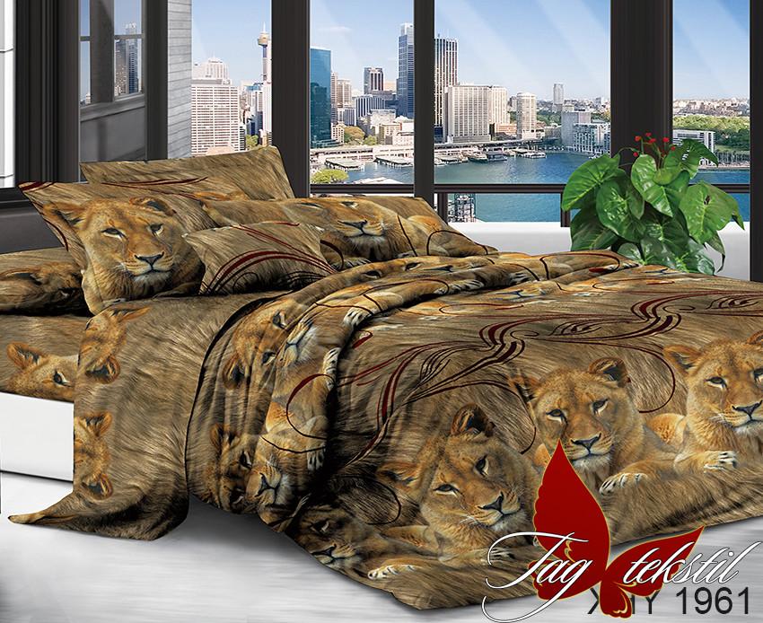 Постельное белье ТМ TAG/2-спальные/Поликоттон 3D XHY1961
