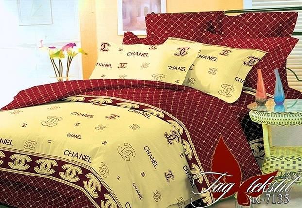 Постельное белье ТМ TAG/евро/Поликоттон 3D BR7135, фото 2