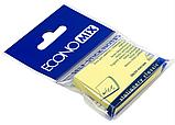 Блок стикеров для заметок Economix 38x50 мм, 100 л., желтый, фото 2