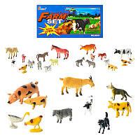 Тварини Н 641-1-3 домашні, 3 види, 10 шт. в кульку, 20-15-3 см.