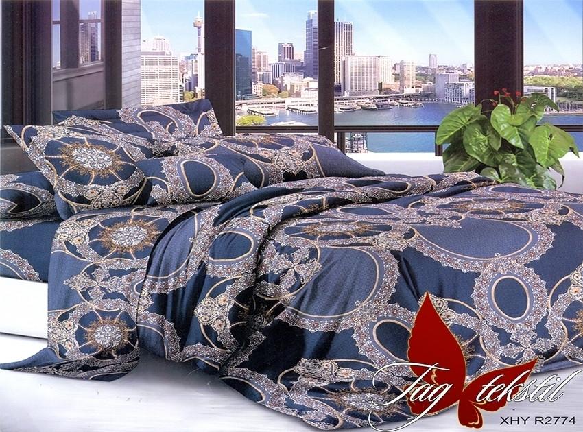 Постельное белье ТМ TAG/семейные/Поликоттон 3D XHY2774