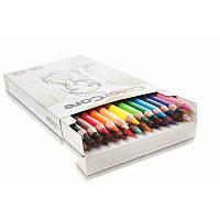 Карандаши цветные круглые + 1 графитный ColorCore (new) 3130-24CB Marco, 24 цвета
