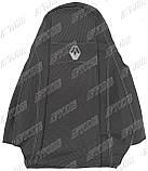 Авточехлы Renault Magnum 1+1 2001-2005 (тёмно-серые) VIP ЛЮКС Nika, фото 6