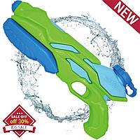Детский  водный Бластер зеленый Whiteleopard Water Blaster Gun