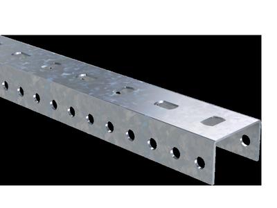 П-образный профиль PSL, L2000, толщ.1,5 мм