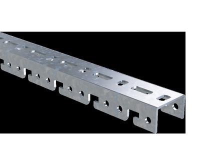 Профиль BPF, для консолей быстрой фиксации BBF,  L3000, толщ.2,5 мм