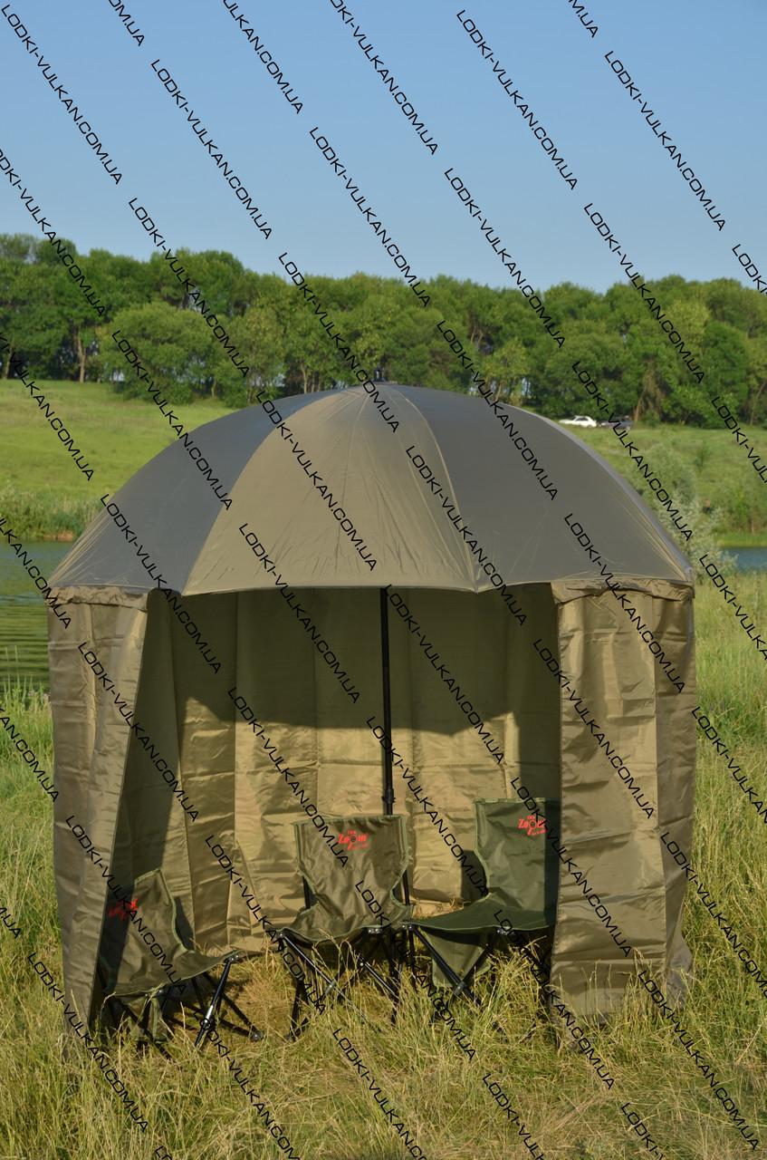Обзор. Палатка для зимней рыбалки. Палатка Зонт - YouTube