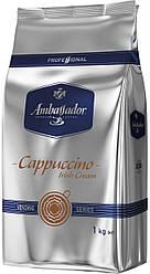 Капучино Ambassador со вкусом Irish Cream (Ирландский виски) 1 кг
