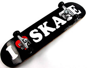 "СкейтБорд деревянный  ""Loveskating"" до 85 кг"