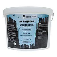 OXIDOM Аквадекор - защитная пропитка для дерева (белый) 10 л