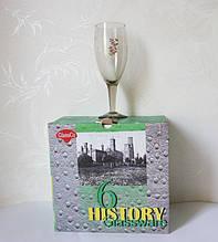 Набор (6 шт.) бокалов для вина, шампанского  С-1051801/4
