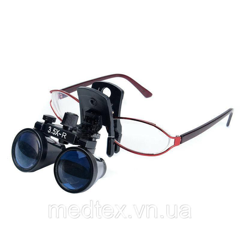 Бинокуляры с прищепкой на очки